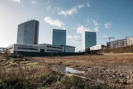 Le Kirchberg présente encore un fort potentiel de développement. Photo: Edouard Olszewski
