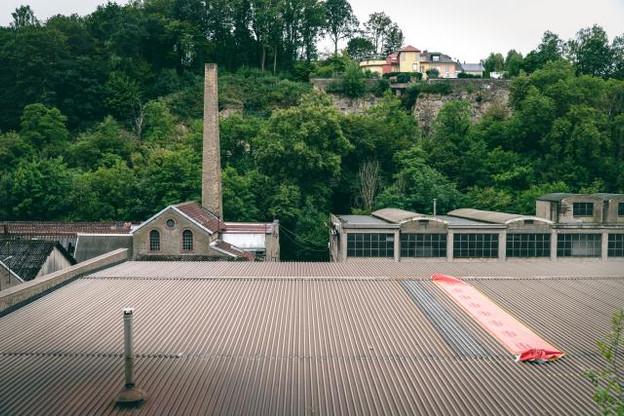 L'ancien site industriel a un nouveau destin. Un nouveau quartier devant accueillir jusqu'à 600 habitants. Mais il faudra d'abord dépolluer. (Photo: Sven Becker)