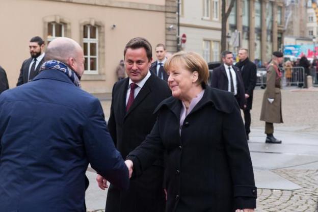 Angela Merkel a estimé que l'Allemagne allait bénéficier d'un système de fiscalité pour les entreprises «compliquées».  (Photo: Patrick Galbats)