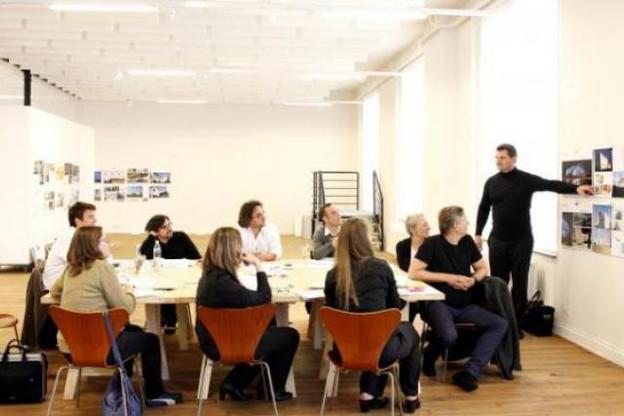 Le jury du Prix Luxembourgeois d'Architecture (Photo: Olivier Minaire/archives)