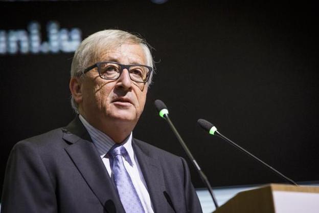 Jean-Claude Juncker a évoqué différents sujets, tels que l'indépendance de la Catalogne ou le défi démographique et environnemental. (Photo: Jan Hanrion / Maison Moderne)