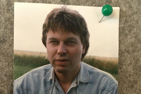 René Clesse en 1994. Une photo issue des archives de Maison Moderne, parue à l'occasion du premier numéro d'Explorator. (Photo: Maison moderne / archives)