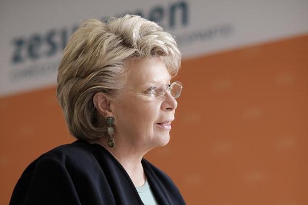 L'eurodéputée Viviane Reding «appelle le gouvernement luxembourgeois à demander l'arrêt des négociations», à l'instar du gouvernement français. (Photo: Julien Becker / archives )