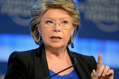 L'eurodéputée luxembourgeoise Viviane Reding est à l'initiative de plusieurs mesures prises en faveur des femmes au niveau de la Commission. (Photo: paperJam / Archives)
