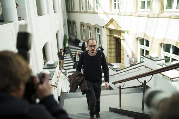Le premier avocat général ne pense pas qu'Antoine Deltour (et Raphaël Halet) puisse bénéficier de la protection de l'article 10 de la Convention européenne des droits de l'Homme sur lequel la Cour européenne des droits de l'Homme a fondé sa jurisprudence sur la protection des lanceurs d'alerte. (Photo: Sven Becker / Archives)