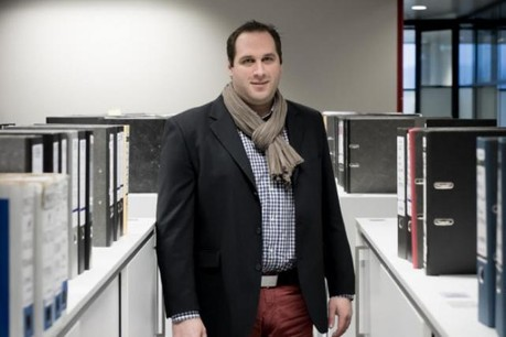Julien Bossu: «Décrocher des chantiers et donner du boulot à tout le monde.» (Photo: Jessica Theis )