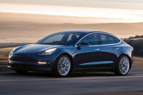 En version standard, le Model 3 est annoncé avec une autonomie de 340 kilomètres. Et de 500 kilomètres dans sa version «long range». (Photo: DR)