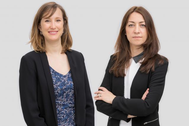 Claire Leonelli et Claire Denoual Crédit Photo: /c law