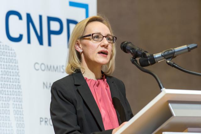 Dès octobre dernier, Tine Larsen, présidente de la CNPD, évoquait «un équilibre entre innovation et protection de la vie privée».  (Photo: CNPD / archives)