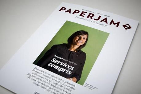 Magali Maillot, human resources director d'Allen & Overy est en couverture de cette édition juillet/août de Paperjam2. (Photos: Maison Moderne Studio)
