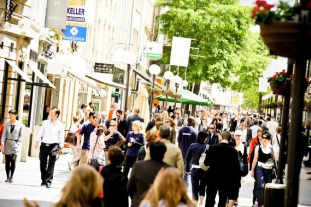 Le tissu commercial urbain connaît une vague de fermetures importante. (Photo: David Laurent/archives)