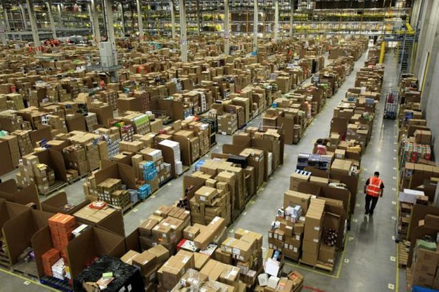 Le nouveau centre de distribution d'Amazon, à Bristol, sera le quatorzième du groupe au Royaume-Uni. (Photo: DR)