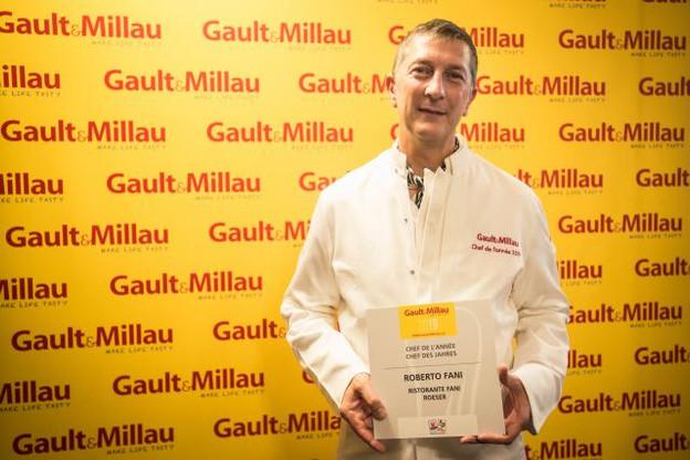 Roberto Fani, le chef propriétaire du restaurant Fani à Roeser, s'est vu attribuer le titre de Chef de l'année pour cette 16e édition. (Photo: Mike Zenari)