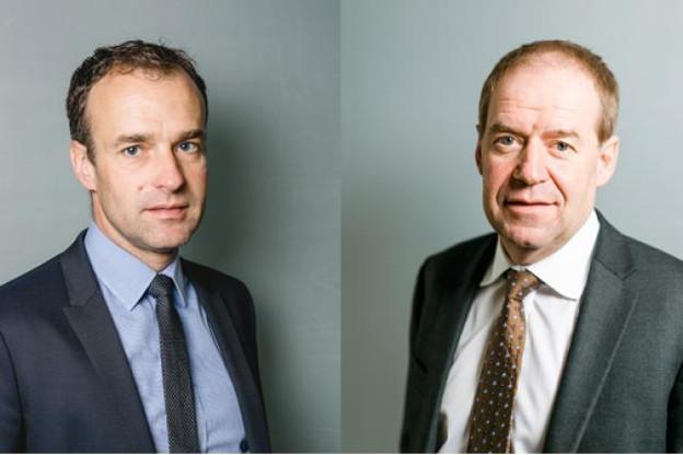 Roland Ludwig (à gauche) remplace Marc Hentgen à la tête de la banque Advanzia (Photo: Advanzia Bank)