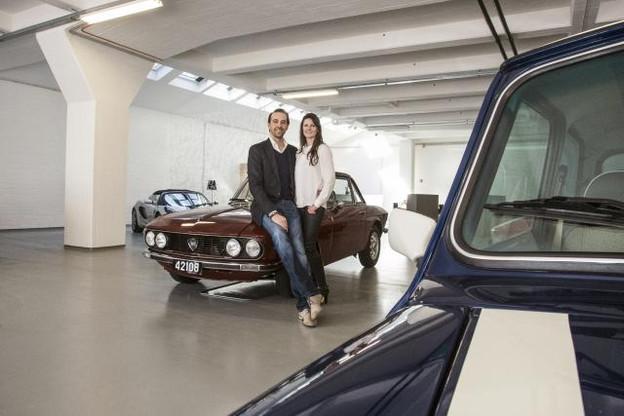 Marie Guerre et Renaud Kieffer, associés dans la vie et en affaires. (Photo: Mike Zenari)