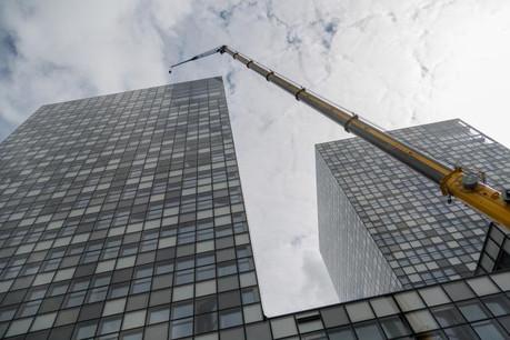 RTL City sera inaugurée fin 2016, après trois ans de travaux. (Photo: Maison Moderne)