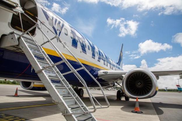 La liaison opérée par Ryanair entre Luxembourg et Londres-Stansted pourrait être retirée du programme d'été de la compagnie en 2019. (Photo: Paperjam.lu / archives)
