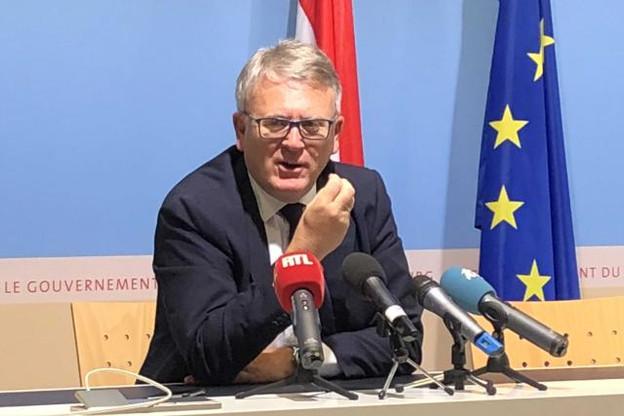 Nicolas Schmit voudrait obtenir cinq ans de délai avant d'appliquer la proposition de la Commission sur le chômage des frontaliers. (Photo: Audrey Somnard)