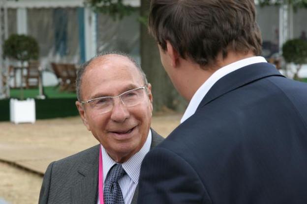 Serge Dassault, ici en 2009, était la quatrième fortune française, avec un patrimoine estimé à 19 milliards d'euros par Forbes. (Photo: Licence C.C.)