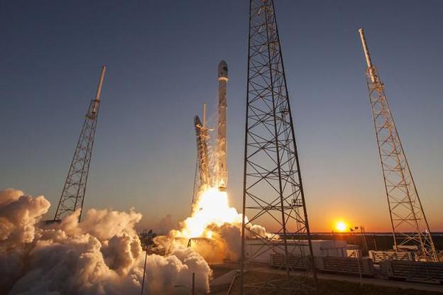 Si ce deuxième lancement réussit, SpaceX entend réutiliser une nouvelle fois le premier étage recyclé de sa fusée. (Photo: SpaceX)