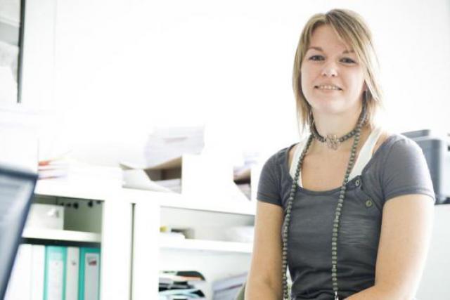 Séverine Petit - Gestionnaire RH, VO Consulting (Photo: David Laurent/Wide)