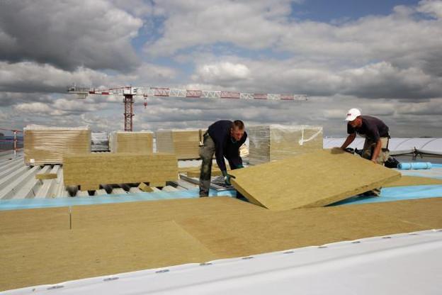 C'est finalement en Moselle que Knauf installera son usine de production de laine de roche. (Photo: Knauf/BEI)