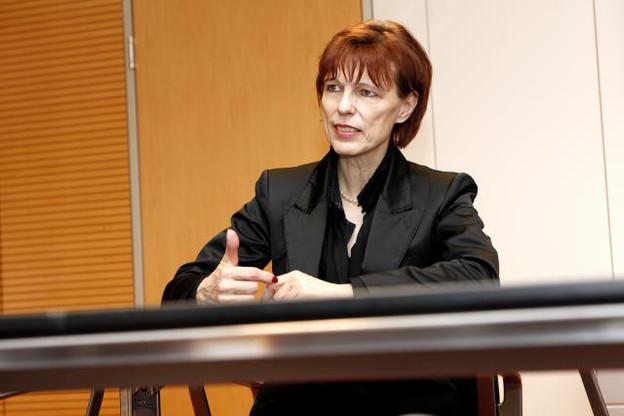 Simone Delcourt est en poste depuis 2005. (Photo: Olivier Minaire / archives)