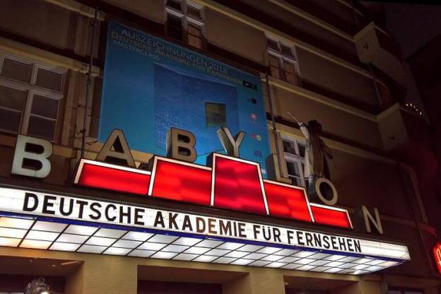La Deutsche Akademie für Fernsehen récompense les meilleures productions télévisuelles allemandes. (Photo: Facebook / Deutsche Akademie für Fernsehen)