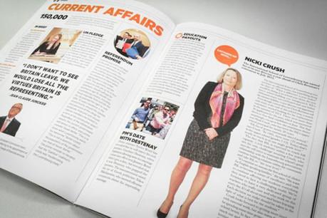 Delano s'impose comme le magazine de la communauté internationale. (Photo: Maison Moderne Studio)