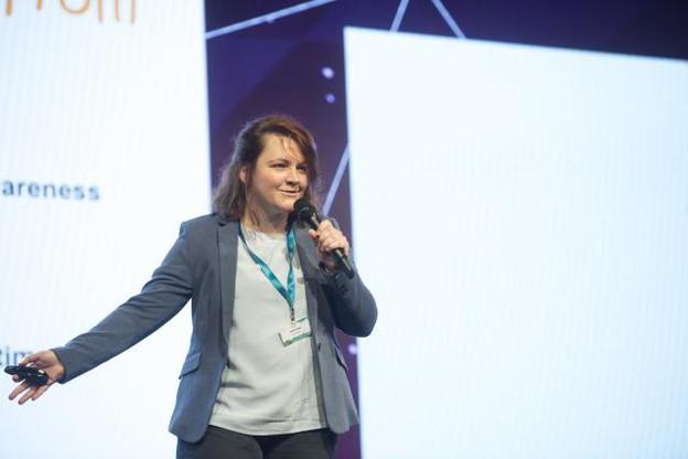 Gaëlle Haag est l'une des cofondatrices de la start-up. (Photo: Anthony Dehez / archives)
