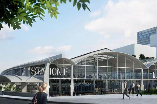 Station F, le plus grand «campus de start-up du monde» situé dans le 13e arrondissement, pas loin de la place d'Italie. (Photo: DR)