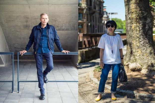 Raoul Thill & Anouk Wies nous présentent leur style casual. (Photo: Mike Zenari)
