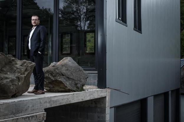 Vincent Lyonnet et sa société sont aussi actifs au Luxembourg (ici à Buderscheid). (Photo: Julien Becker)