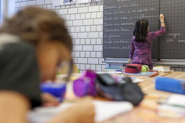 Au total, cinq personnes seraient impliquées dans les fuites ayant amené quelque 5.000 élèves du cycle 4.2 à repasser des épreuves au printemps dernier. (Photo: Julien Becker/archives)