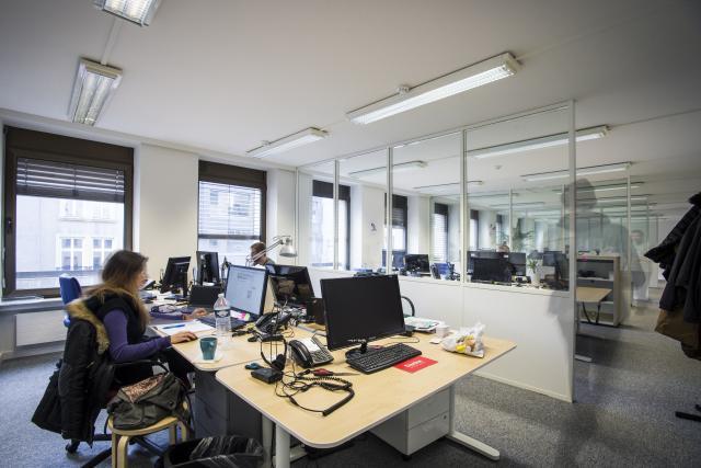 Dans les bureaux de Talkwalker, à Luxembourg-ville. La start-up emploie 120 personnes, dont une quinzaine à New York. (Photo: Mike Zenari/archives)
