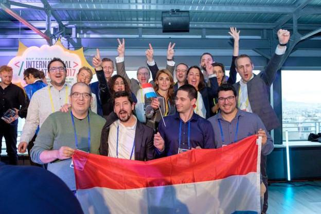Tetrao était en concurrence avec 15 autres start-up finalistes venues de Berlin, Istanbul, Nankin, Paris, Rome, San Francisco, Singapour et Varsovie. (Photo: BGL BNP Paribas)