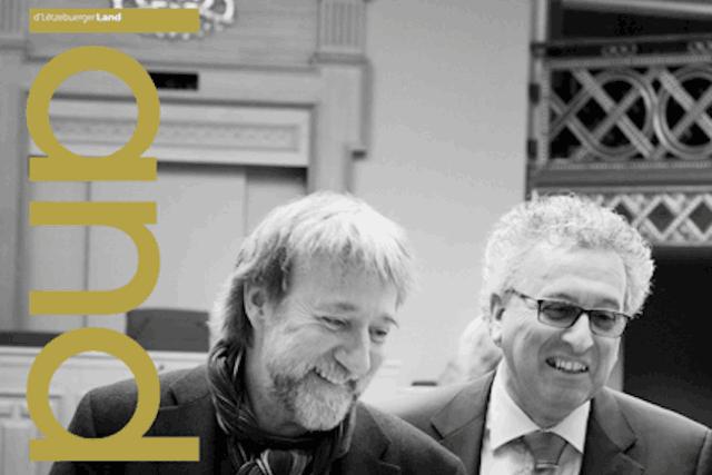 La nouvelle édition de l'hebdomadaire politique, économique et culturel Lëtzebuerger Land est en kiosques dès jeudi. (Photo: Land)