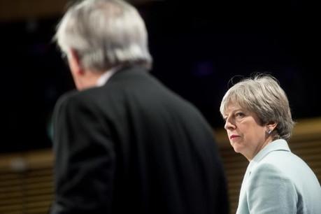 Theresa May (ici à Bruxelles en 2017) devrait, si sa motion est approuvée, retourner rencontrer les dirigeants européens pour tenter de la faire accepter. (Photo: Commission européenne / services audiovisuels / archives)