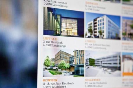 À l'heure actuelle, l'équivalent de 40.000 m2 de surface de bureaux est présenté sur le portail. (Photo : To Let)