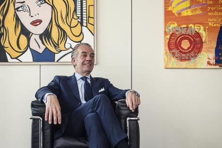 Bob Kneip prend la présidence du conseil d'administration... et la tête du classement des articles les plus lus sur Paperjam.lu. (Photo: Maison Moderne)