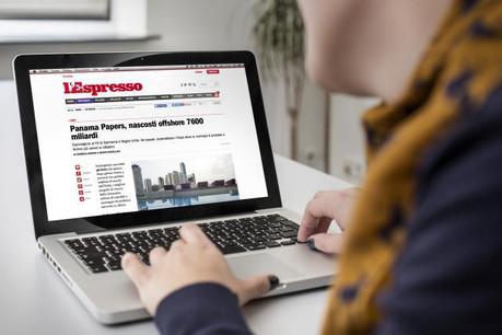 L'avocate Simone Retter citée par le magazine L'Espresso dans le cadre des Panama Papers fait la une du top 10. (Photo: Maison Moderne)