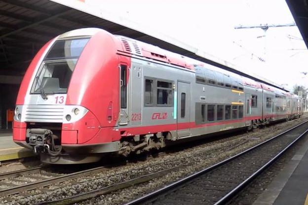 Les trains impactés par les travaux réalisés sur la ligne 90 l'an prochain seront remplacés par un service de bus. (Photo: DR)