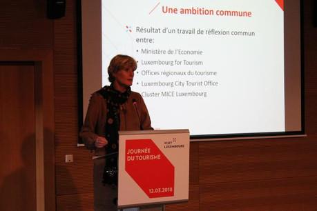 Francine Closener a lancé au mois de mars un défi aux PME: trouver des idées innovantes pour relancer le Luxembourg sur le domaine du tourisme. (Photo: Meco / Archives)