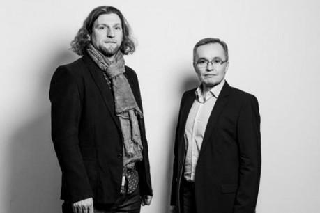 André Hesse et Luc Biever (Photo: Julien Becker)