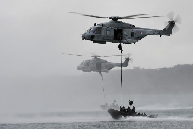 Un NH90 en action. Pas au Luxembourg, évidemment. (Photo: Airbus)