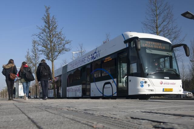 Les trois nouveaux bus vont contribuer à rajeunir encore un peu plus un parc où les véhicules sont changés tous les 5 ans en moyenne. (Photo: Voyages Emile Weber)