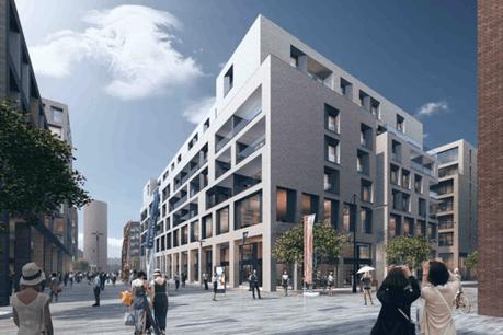 Ce qui n'est encore qu'un parking de surface deviendra prochainement un nouveau quartier mixte largement ouvert aux familles. (Photo: Agora)