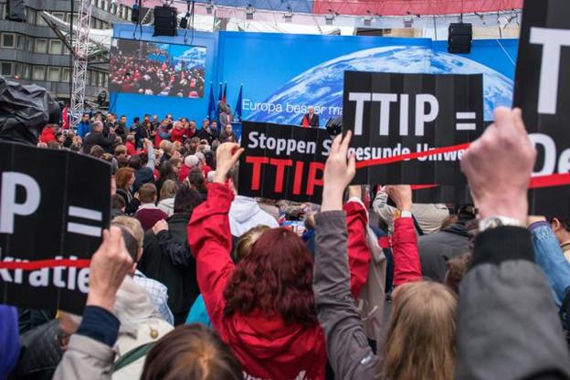 Le dossier des négociations commerciales entre l'UE et les États-Unis est très suivi au niveau de la société civile européenne, qui ne souhaite pas que des compromis soient faits aux Américains. (Photo: DR)