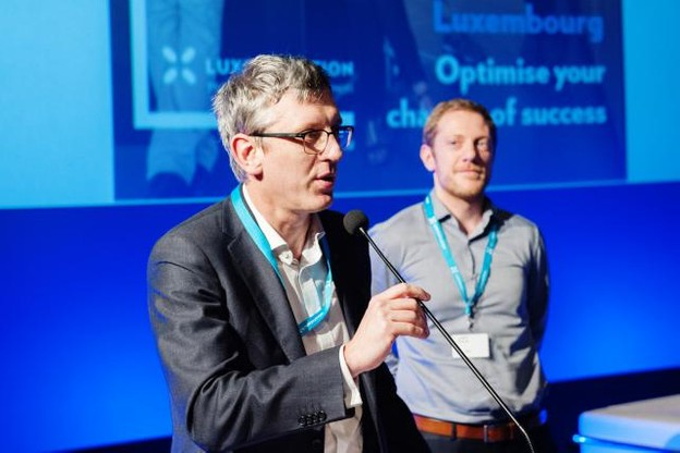 Laurent Denayer, CEO d'Ume et Samuel Eustachi (Ume). (Photo: paperJam / Archives)