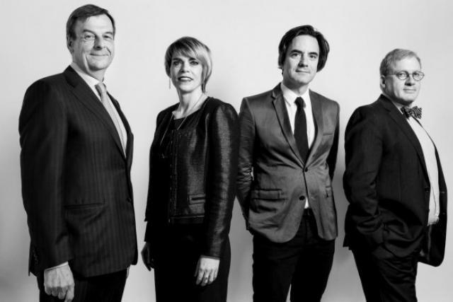 Louis Berns, Vinciane Istace, Guy Castegnaro, Thierry Schuman (Photo: Julien Becker)